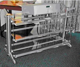 "Stillpoints ESS 26/40 Rack 26"" High with three 40"" wide shelves"