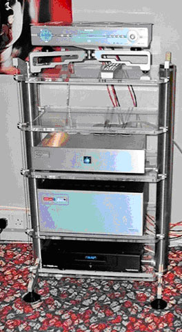 "Stillpoints ESS 40/20 Rack 40"" High with Five 20"" wide shelves"
