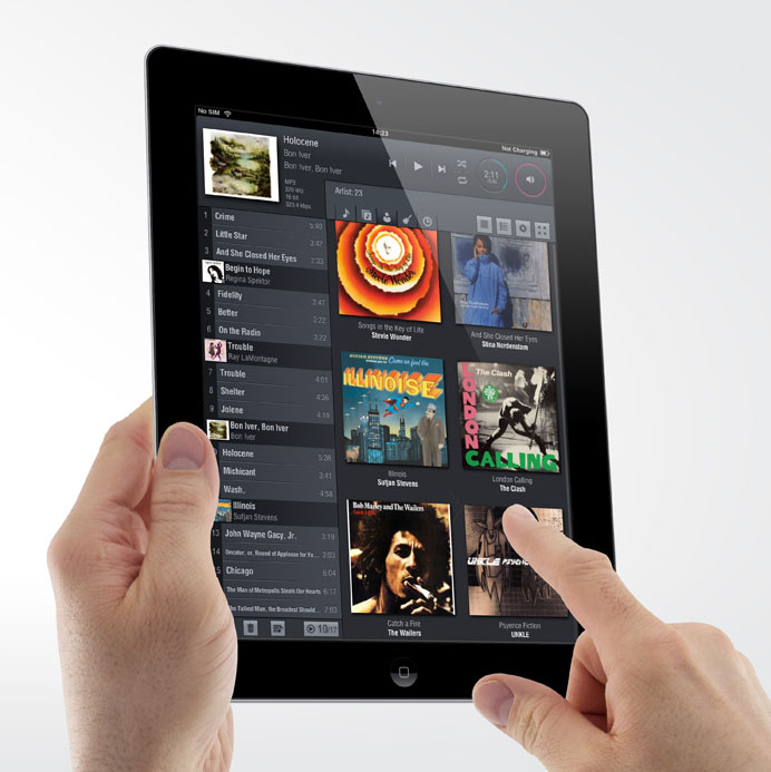 Lumin Network Music Player App for the iPad